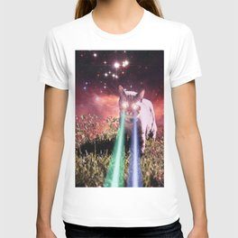 Mega Space Cat Rising T-shirt