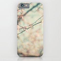 spring #2 (pink&bleu) iPhone 6s Slim Case