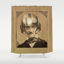 Edgar Allan Poe Dameron Shower Curtain