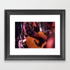 Aaron Gillespie  Framed Art Print
