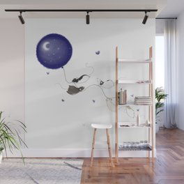 Moon and Stars *New* Wall Mural