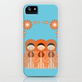 Matrioshkas Friendship iPhone Case