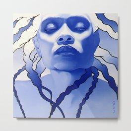 Blue Kee Metal Print