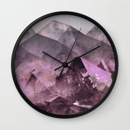 Quartz Mountains Wall Clock