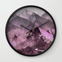 Quartz Mountains Wall Clock