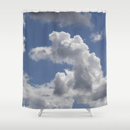 Snoopy Cloud Shower Curtain
