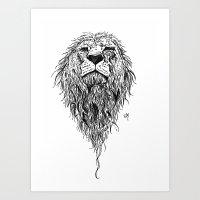 courage. Art Print