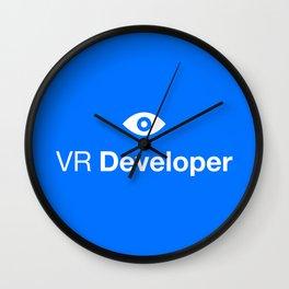 VR Developer Wall Clock