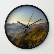 As far as the eye can see...  Wall Clock
