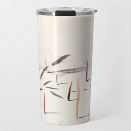 Sticks and Shadows on the North Thompson Travel Mug