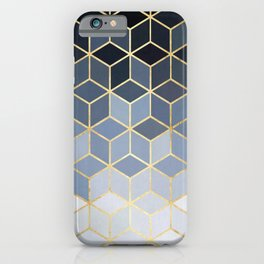 Colorful and golden pattern I iPhone Case