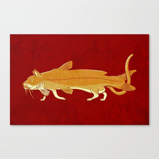 Catfish Canvas Print