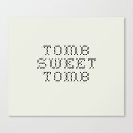 TOMB SWEET TOMB (The Haunted Mansion) Canvas Print