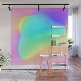 Prismatic Rainbow Design! Wall Mural
