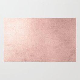 Blush Rose Gold Ombre Rug