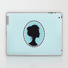 Blue cameo Laptop & iPad Skin