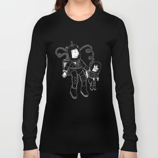 nostalgia espacial Long Sleeve T-shirt