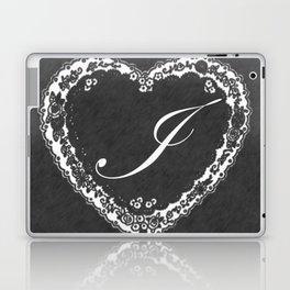 I Vintage Valentine Chalkboard Laptop & iPad Skin