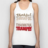 thanksgiving Tank Tops featuring Thanksgiving, Black Friday by Chris Piascik