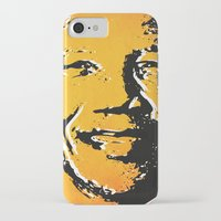 mandela iPhone & iPod Cases featuring nelson mandela by mark ashkenazi