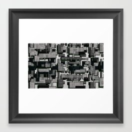 Cubish Framed Art Print