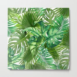 green tropic Metal Print