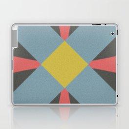 Blue gray Laptop & iPad Skin
