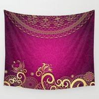 gypsy Wall Tapestries featuring Elegant Gypsy by Robin Curtiss
