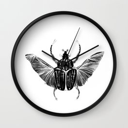 Beetle Wall Clock