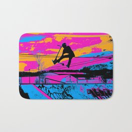 Lets Fly!  - Stunt Scooter Bath Mat