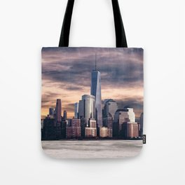 Dramatic City Skyline - NYC Tote Bag