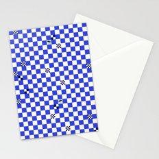 The tiler's odd sense of humor  Stationery Cards