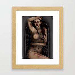 Helluva day Framed Art Print
