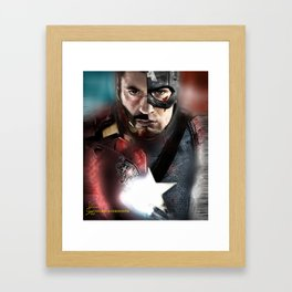 ironcap Framed Art Print