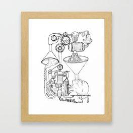 Pampludex #1 Framed Art Print