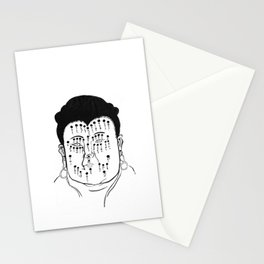 The Face That Knows All Stationery Cards