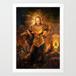 Vigo the Carpathian Art Print