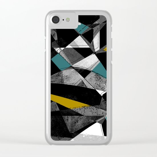Differenz III Clear iPhone Case