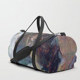 Henri de Toulouse-Lautrec - The Model Resting Duffle Bag