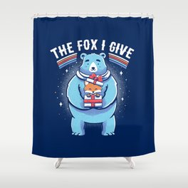 The Fox I Give Shower Curtain