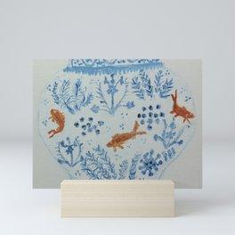 Goldfish Ginger Jar  Mini Art Print