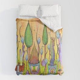 Dream Garden 1 Comforters