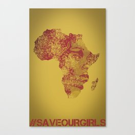 #BringBackourGirls Canvas Print