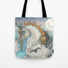 SPELLBOUND - Gothic Halloween Unicorn Tote Bag