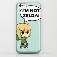 I'm not Zelda! (link from legend of zelda) iPhone 5c Slim Case