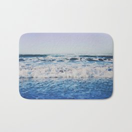 Indigo Waves Bath Mat