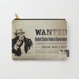 Wanted Poster Carry-All Pouch