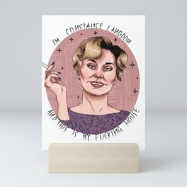 This is my house Mini Art Print