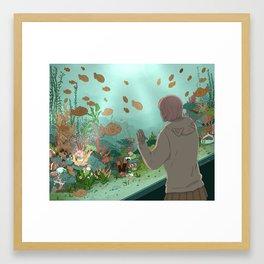 Taiyaki Aquarium 2 Framed Art Print