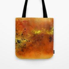 Orange Space Tote Bag